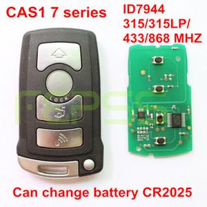 Inteligente Remoto Chave Fob 4 Botão 868 MHz / 433 MHz / 315LP MHz / 315 MHz ID7944 para BMW CAS1 Série 7 E65 E66