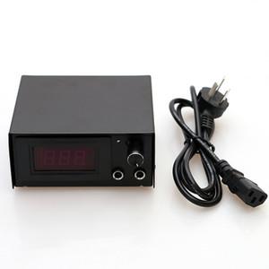 Black Square LCD Tattoo Power Supply Three Digital Power Supply for Tattoo Machine Gun Kits TPS006