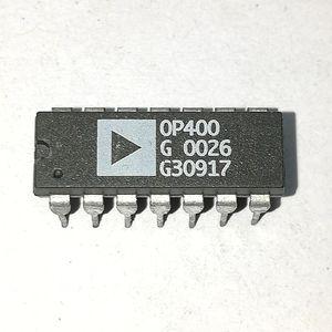 OP400G. OP400GP. OP400GPZ / OP400. PDIP14, QUAD OP-AMP AMPLIFIER Integrated Circuits ICs / dual in-line 14 pins chips de plástico para paquetes