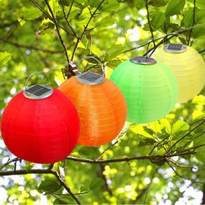 Solar lantern lantern silk 12 inch solar lamps waterproof outdoor solar LED lamp manufacturers