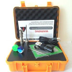مسمار الكهربائية التيتانيوم صندوق البجع اللمسة الأظافر ENAIL تحكم الشمع PID TC مع رخيصة Domeless مم 10/16/20 مع E التيتانيوم Egroj