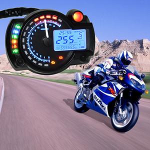 15000RPM Moderna Moto Digital Light LCD Gommometro digitale tachimetro tachimetro contachilometri contabile tachimetro moto regolabile