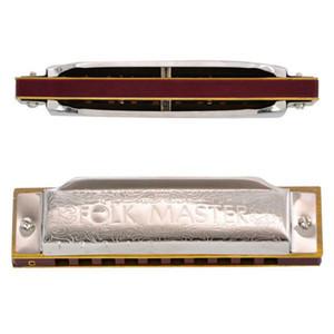 1,072 표준 초보자 온음계 블루스 하모니카 GAITA 10 개 구멍의 키 A C D E F G 악기 Folkmaster