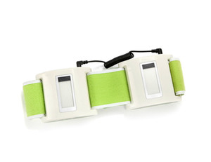 Elitzia ETBT8005 sans fil machine de remplissage amincissant la ceinture réduire Belly Artefact Lean Body Burn Fat paresseux Shake Machine Grease Belt