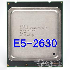 intel xeon e5 2630 SR0KV 2.3GHZ 7.2GT / s 15MB SIX NÚCLEO LGA2011 E5-2630 CPU Processore