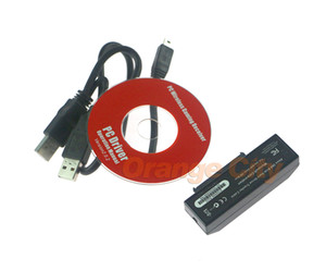 New Black per Xbox360 slim USB HDD Hard Drive Transfer Data Sync Cable Kit 4 per Xbox 360 Slim