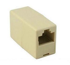 Sıcak Evrensel RJ45 Cat5 8P8C Soket Konnektör Çoğaltıcı Uzatma Genişbant Ethernet Ağ LAN Kablosu Için Joiner Genişletici