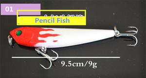 5 stücke von rot kopf fischköder künstliche köder kunststoff schwimmen wobbler angeln zubehör pesca tackle haken