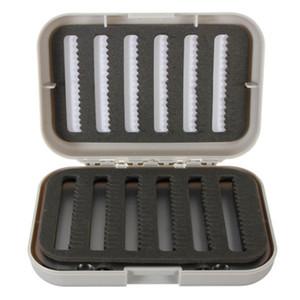 Wholesale- Double Sides Fishing Box Fishing Lure Baits Hooks Tackle Box Storage Case Tool