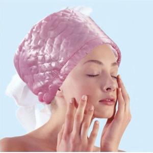 3 الدرجات الكهربائية الشعر العلاج الحراري الشعر SPA باخرة كاب 100 ٪ جودة الشعر المغذي أداة جديد وصول موضة صالون تجميل ZA2449