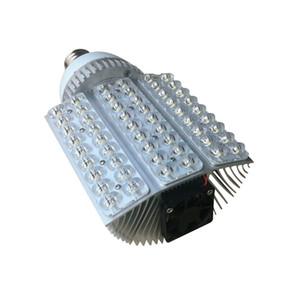 높은 광도 60W E40 E27 LED 가로등 7200lm AC85-265V 60 * 1W는 가로등 옥외지도 한 옥외 방수 수직 정원 도로 가로등을지도했다