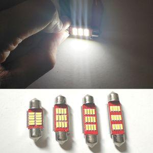 Чтение свет 31 36 39 41 мм стайлинга автомобилей 2 шт. ошибка бесплатный Led 12 В 4014 12 SMD гирлянда интерьер свет автомобиля Лампа Лампа номерного знака свет CANBUS