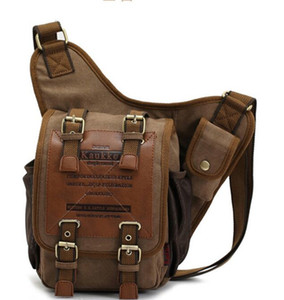 Canvas Messenger Shoulder Bag Handbag Messenger Bags Military Vintage Canvas Bags Laptop Satchel Designer Handbags Shoulder Bags
