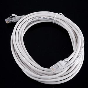 100pcs 10m RJ45 à RJ45 Câble Ethernet Patch Link Réseau Câble Lan Blanc DHL gratuit Nouveau