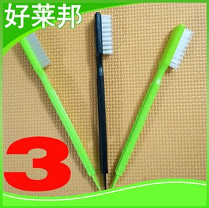 Paragraph 3 brushes soybean milk machine electric cleaning brush to clean flocking processing