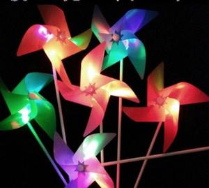 Вечеринка одеваются светодиодная светящаяся ветряная мельница детский сад детей мультфильм изображения красочные ветряная мельница детские игрушки маленькие подарки