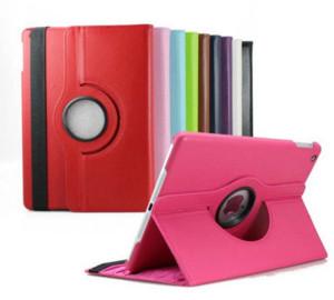 360도 회전 Lichee PU 가죽 케이스 스탠드 플립 커버 iPad 미니 2 3 4 5 6 Air Air2 ipad pro 9.7