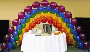 Link-O-Loon Qualatex Luftballons Geburtstag Weihnachten Hochzeit Luftballon DIY Linking Garland Arch Party Dekorationen 12 '' 10 '' 6 '' Shop Dekor