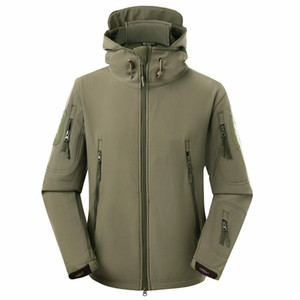 Hight qualidade V4.0 impermeável Soft Shell Jacket Tactical Army SWAT militar Windproof Militar Casacos revestimento roupa