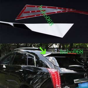 2X / LOT 304 Paslanmaz Spoiler Arka Dekoratif Kuyruk Trim için Cadillac SRX 2010-2015 DIY VAKA DE