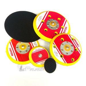 2''-6''M8 Hook & Loop Abrasive Polishing Pad Sanding Disc Holder Air Sander Adapter