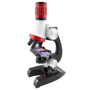 1200 volte educazione scientifica microscopio impostare esperimento scientifico sussidi didattici per bambini fai da te prima educazione regalo giocattoli educativi