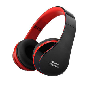 nx-8252 Foldable DJ Bluetooth Wireless Headphone Hi-fi Stereo Earphone Noise Cancelling Headset With Mic For Smart Phones With Retail Box