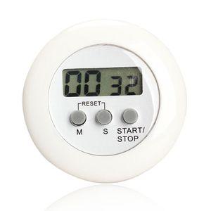Tour Magnétoscope LCD Numérique Cuisine Compte à rebours Alarme avec support Blanc Cuisine Minuteur Pratique Cooking Timer Alarm Clock