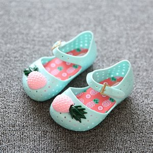 Mini Sed Shoes New Hot Sale Summer Girls Shoes Children Shoes Girls Sandals Pineapple Jelly Baby Kids Sandals