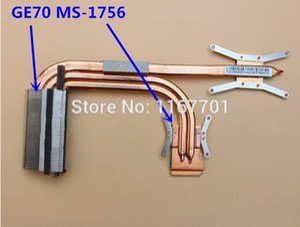 enfriador para MSI GE70 MS-1756 MS-1757 disipador térmico de enfriamiento E312500263CA E312500080CA E312500081CA