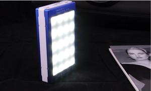 Banco de Energia Solar Real 15000 mah Duplo USB Carregador Solar Portátil PowerBank para xiaomi smartphone