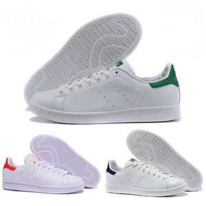 2017 Nuevo diseño Raf Simons Stan Smith Zapatos Casual Casual de Cuero Zapatos de marca barata hombres mujeres Classic Flats Sneakers 36-45 superstar super star