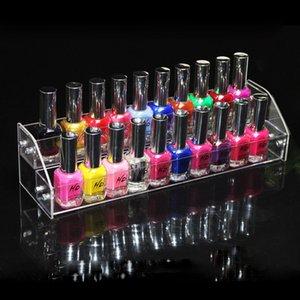 Acrílico 2 3 4 5 6 Tiers Organizador Mac Lipstick Jewelry Display Holder Nail Polish Rack