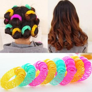 8PCS Magic leverage Spiral Curls Tool per parrucchieri Bendy DIY Hair Styling Bigodini BB # R48