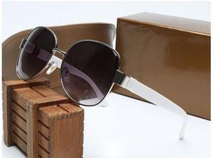 Sommer UV400 Frau Mode Metall Helle schwarze Sonnenbrille Outdoor Radfahren Fahren Sonnenbrille Lady Strand Schutz Sonnenbrille kein Kasten