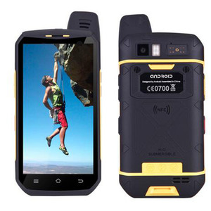 Fashion 4G LTE Walkie Talkie telefono UNIWA B6000 Octa Core 4 GB RAM 64 GB ROM 5000 mAh NFC Dual Camera Android 6.0 IP68 Smartphone impermeabile