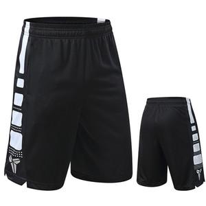 Ativo Trainer Shorts de Basquete 100% Poliéster Bermuda Ginásio Esporte Shorts Da Cintura Descontraída dos homens Solto Treinamento Esporte Desgaste Plus Size 3XL