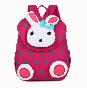 New Fashion Hot Rabbit Anti Stray Toddler sac à dos sac à dos mini cartable Enfants cadeaux maternelle garçon fille cadeaux