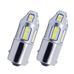 Quality car led lights 1156 1157 30led 2835smd xenon white for bmw audi honda vw mazda benz.