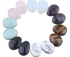 12 MM Nueva piedra waterdrop Plugs siete colores pueden elegir envío gratis