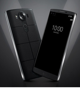 Telefone Hexa núcleo 4GB RAM 64GB ROM 16MP Câmera Desbloqueado móvel celular remodelado Original LG V10 H961N H900 H901 4G LTE 5,7 polegadas