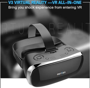 2020 Yeni Hareket V3 VR All In One Gözlük RK3288 Dört çekirdekli 2G Ram 16G Rom 5.5 inç FHD 1080P Ekran 3D Gözlük Sanal Gerçeklik