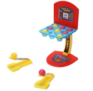 3pcs lot BASKETBALL SHOOTING MACHINE ONE OR MORE PLAYERS GAME TOY CHILDREN KIDS BOYS MINI DESK TOYS GIFT FOR CHILDREN