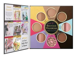 The Black Black Book of Bronzers palette Blush Cheek Highlighter Cosmestics Palette تغيير مظهرك