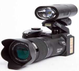 Yeni yüksek kalite PROTAX POLO D7100 dijital kamera 33MP TAM HD1080p 24X optik yakınlaştırma Otomatik Odak profesyonel kamera 1pcs DHL