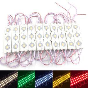 Moduli LED per vetrina luce anteriore per lampada 3 SMD 5630 Iniezione bianco per ip68 Lampadina per retroilluminazione a led (10 piedi = 20 pezzi)