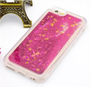 Buntes Verschieben Shining Stars Flüssiges Glitter Treibsand 3D Bling Telefon-Kasten-Abdeckung für LG K8 2017 LV3 MS210 X300 K10 2017 LV5 X400 M250N