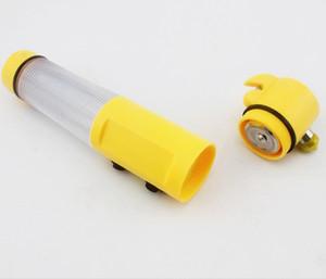 Martello di emergenza auto multifunzionale con martello di sicurezza con torcia a LED Martello di emergenza per auto Interruzione automatica della finestra + Luce faro