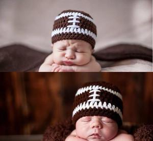 Yeni bebek tığ şapka Yenidoğan El Yapımı Tığ Kap Earflaps fotoğrafçılık sahne