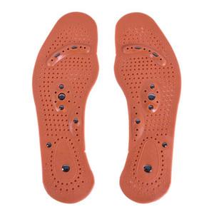1 par de terapia magnética imán cuidado de la salud masaje del pie plantillas mujeres almohadillas de confort cuidado del pie masajeador